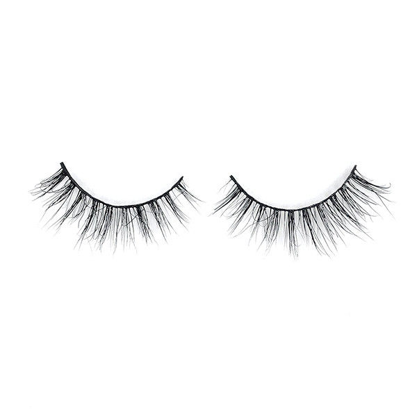 Winged Natural Fashionable Premade 3D Mink Eyelashes Vendor With Package Case