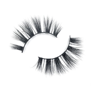 Hot Selling Real Siberian Strip Mink Eyelashes 3D For Woman Natural Look