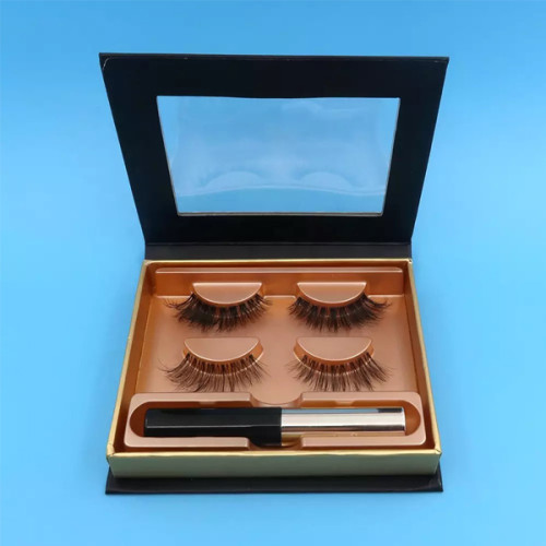 Pestañas magnéticas resistentes a las manchas tradicionales Delineador de ojos magnético Fácil de usar