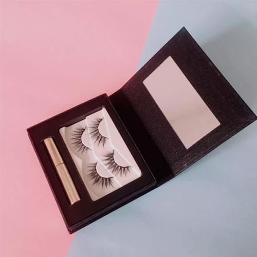 Pestañas de imán falso de visón 100% 3D OEM precio