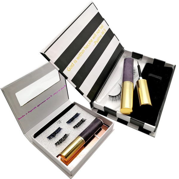 Private Label Reusable Liquid  Magnetic Eyeliner And Lashes For Strip Lashes