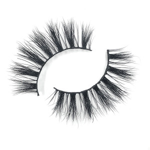 Wholesale Flurry Volumn  Brand Name Mink Strip Eyelashes With Eyelash Tweezers