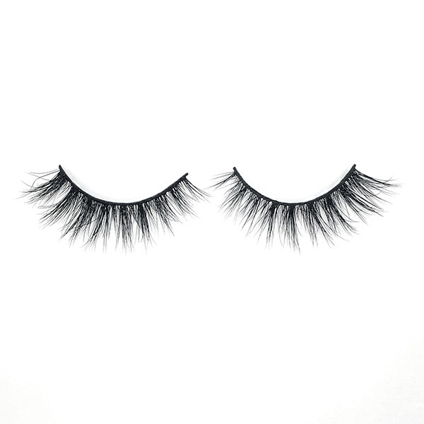 Real Premade Glitter Mink Strip Eyelashes Wholesale For Eye Makeup