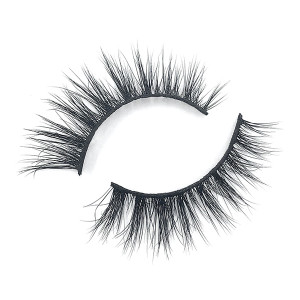 Real Premade Glitter Mink Strip Eyelashes Wholesale For Eye Makeup