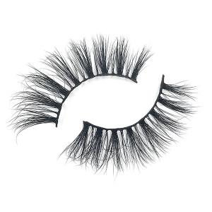 Private Logo Real Luxury 3D Mink Eyelashes Wholesale With Eyelash Glue