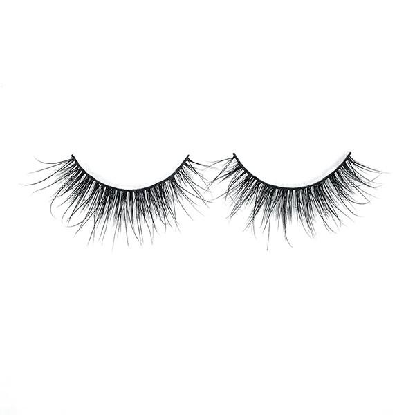 Popular Custom 3D Natural Hair100% Mink Eyelashes With Eyebrow Scissors