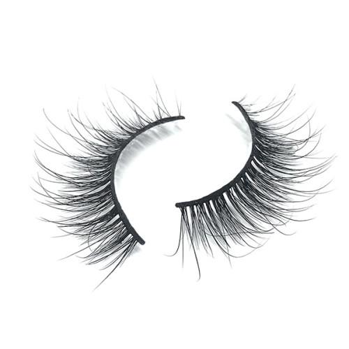 Pestañas naturales populares de encargo del visón 3D Hair100% con las tijeras de la ceja