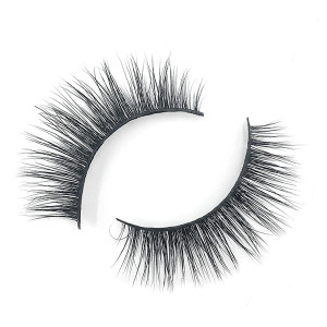 Long Thick  Hand Made Custom Siberian Mink Eyelashes With Eyelashes Curler
