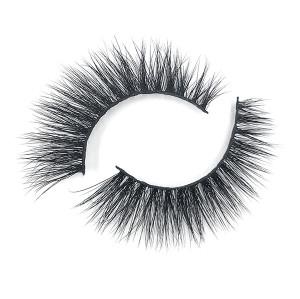 Fabricante de encargo del visón de las pestañas del pelo 3D de Logonatural con las pinzas de las pestañas