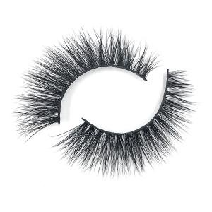 Custom Logonatural Hair 3D Eyelashes Mink Manufacturer With Lashes Tweezers