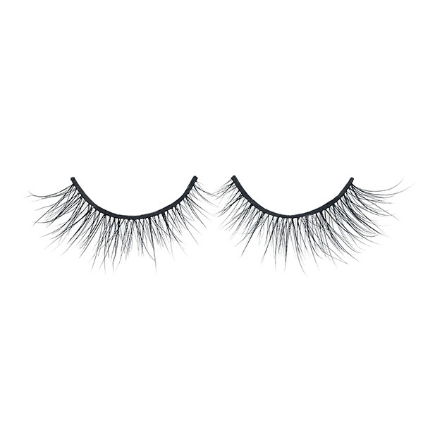 Qingdao Strip Eyelashes 100% 3D Mink Eyelashes Vendor y caja personalizada