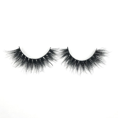 Venta al por mayor Make Up Strips Mink Wispy Girl Eyelashes