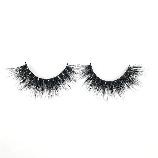 Venta al por mayor Make Up Strips Mink Wispy Girl Eyelashes
