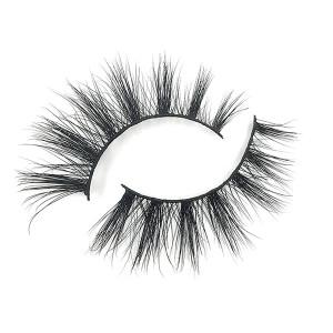 Private Logo Waterproof  Glitter Real Eyelashes Mink Eyelash Vendor With Custom Packaging
