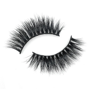 Hand Made Single Beautier 100% Mink False Eyelashes Boxes With Mirror
