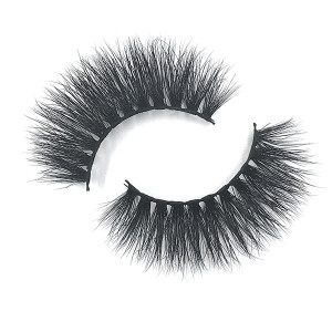 Oem Private Label Eyes Real Hair Real Mink Fur Eyelashes Square Eyelash Packaging With Window