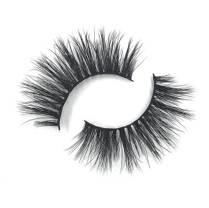Grace Dramatic Pestañas de visón personalizadas en 3D Cruelty Free Bulk Of Mink Eyelashes