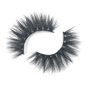 Private Label Thick Luxury 3D Mink No Label Eyelashes