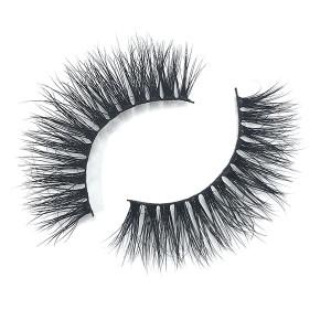 Glamorous Dramatic Glitter Strip Mink Eyelashes Packaging Box