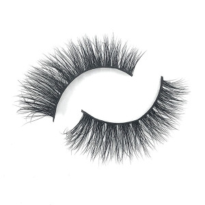 Private Label Custom Label Mink  Real 3D Mink Wispy Eyelashes