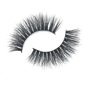 New Own Brand Fluffy 3D Mink Cruelty Free Eyelashes Label