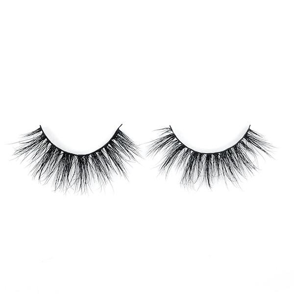 Natural Beauty Strip Mink Eyelashes Private Label False Eyelashes Supplies