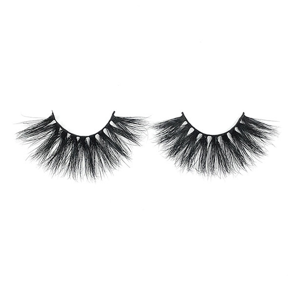 100% Handmade Reusable Long False Fake Soft And Diamatic 5D Lashes With Custom Logo
