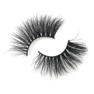 Pestañas de aspecto dramático sin crueldad de visón de alto volumen 25 mm para maquillaje