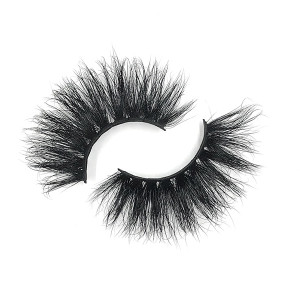 Premium Quality 100% Handing Made Long And Soft Siberian Mink 5D 25Mm Lashes