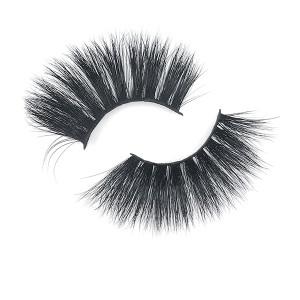 Different Styles Dramatic Volumn Eyelashes Strip Thick False 25Mm Long Eyelash