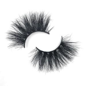 Fluffy Volume Eyelashes 3D Multi-Layered Effect Dramatic Look Reusable 25 Mink Eyelashes