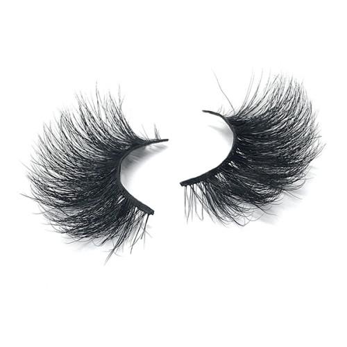 Fluffy Volume Eyelashes Efecto 3D de múltiples capas Aspecto dramático Reutilizable 25 Pestañas de visón