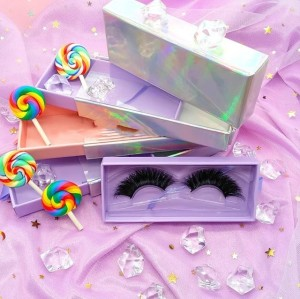 100% Real Natural Full Hand Crafted 3D Mink Lashes Wholesale With Package Box