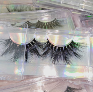 Glamorous And Luxury Lightweight 3D Top Mink Lashes Wholesale For Beauty Shop