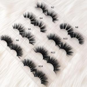 Gorgeous Wholesale Siberian Mink Eyelashes In China