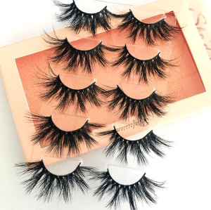 Create Your Own Lash Brand Comfortable Thick 3D Mink Lashes Cheap For Eyebrows Makeup