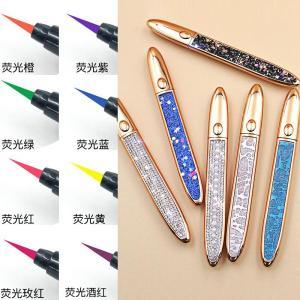 Waterproof Smooth Sticky Liquid Eyeliner Rose Gold Lash Glue Eyelashes Eye Liner Tube Adhesive Eyeliner Pen