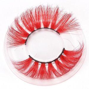2021 new arrivals 3d mink eyelashes colorful eyelashes wholesale lash wholesale bestsellers black lashes 25mm 28mm lashes