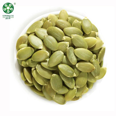 Raw Snow White Pumpkin Seed Kernels With Custuomized Packs