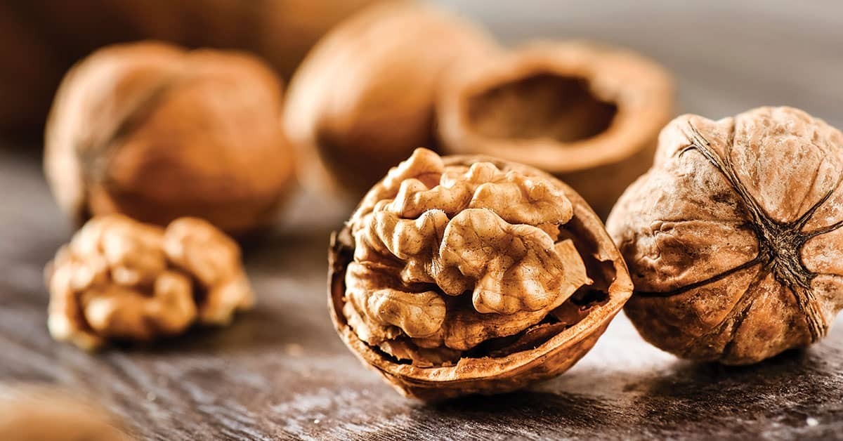 the nutrient ingredients and functions of walnuts
