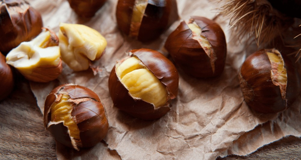 the nutrients and nutritional value of chestnuts