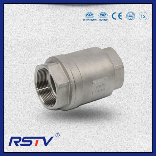 Stainless Steel Thread ends Swing Type Check Valve