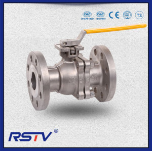 2PC Stainless Steel API Floating Full Port Flanged Ball Valve