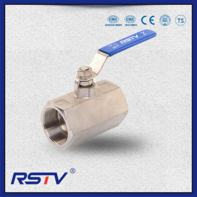 1PC Stainless Steel Floating Threaded ends NPT/BSPT/BSPP Ball Valve