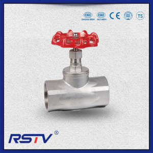 200WOG Stainless Steel NPT/BSP/BSPT Threaded Ends Globe Valve