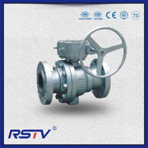 2-Piece Trunnion Mounted Soft Seated Flanged ends Ball Valve
