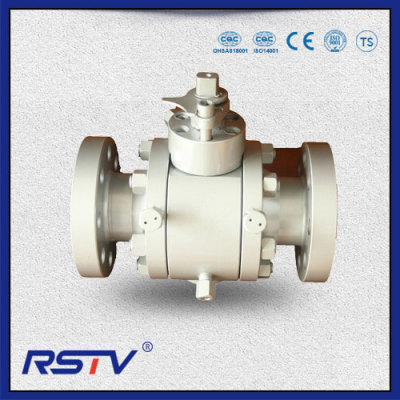 3-Piece Trunnion Flanged Forged Steel Ball Valve