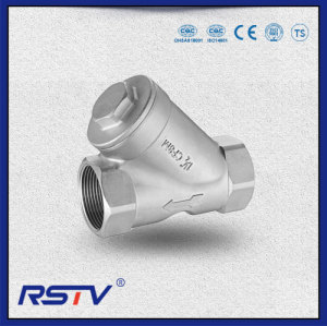 Cast Steel Threaded ends Y Type Strainer 800WOG