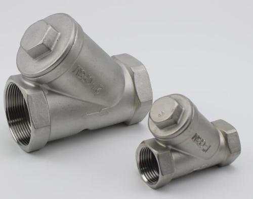 Stainless Steel Threaded ends Y Type Strainer 800WOG