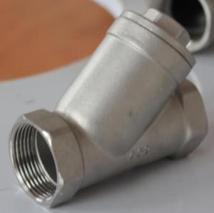 Forged Steel Flange Y type check valve